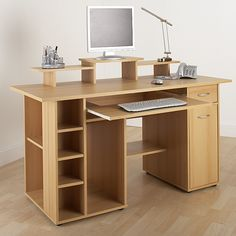 San Diego Computer Workstation   Beech Home Office Desk