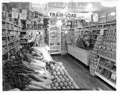 Vintage supermarkets, grocery stores and convenience stores -  Flickr