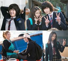 """Park Shin Hye & Lee Jong Seok Getting Along Behind The Scenes Of """"Pinocchio"""" 