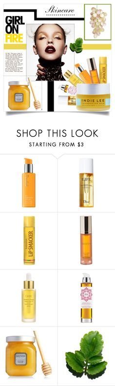 """TC.-M"" by amar-maya ❤ liked on Polyvore featuring beauty, Rodial, Christian Dior, Shiffa, Oribe, REN, Laura Mercier, Indie Lee and amarmaya"