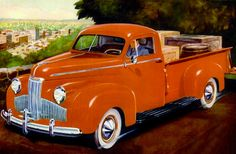 Studebaker  Deluxe Coupe Truck - 1941 - Past partout: Photo