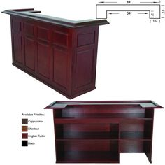 RAM Game Room Bar Furniture Cabinet DBAR84