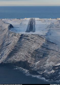 That's one runway I'd be worried about overshooting.