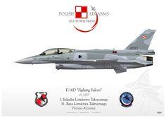 """F16D """"Fighting Falcon"""" s/n 4083 - Sily Powietrzne (Polish Air Arms) - 3. Eskadra Lotnictwa Tacktycznego - 31. Eskadra Lotnictwa Tacktycznego - Poznan/Krzesiny"""