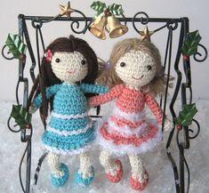 Amigurumi Mailin and Skyla Doll ~ Free PDF Pattern here: http://amilovesgurumi.files.wordpress.com/2013/12/engl-anleitung-fc3bcr-mailin-und-skyla4.pdf