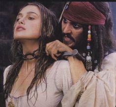 Keira Knightley Pirates, Keira Christina Knightley, Captain Jack Sparrow, Jake Sparrow, Johnny Depp, Elisabeth Swan, On Stranger Tides, Def Not, Pirate Life