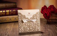 laser cut wedding invitations | InviteShot