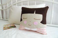 Handmade Plush / Cushion - Suzie