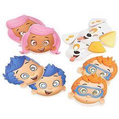 Bubble Guppies Party Masks [8 Per Pack]