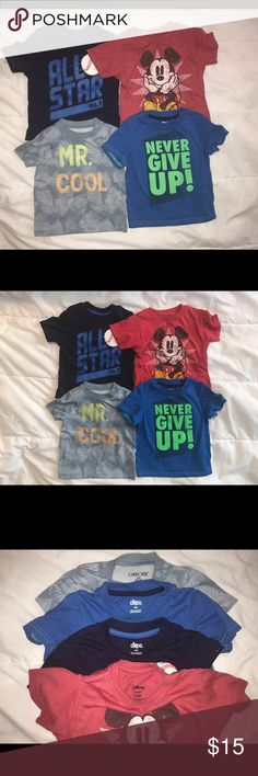 Boy tshirt bundle. 18 Months. Good condition!!! Boy tshirt bundle. 18 Months. Good condition!!! Great for everyday playtime. Shirts & Tops