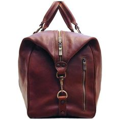 Floto Roma Travel Bag Saddle Brown Italian Leather Weekender Duffle Roma Travel Bag is made with full grain Saddle Brown vegetable tanned Italian calfskin Mochila Nike, Italian Leather, Travel Bag, Tan Leather, Classic Leather, Leather Handbags, Leather Purses, Leather Bags, Fashion Bags
