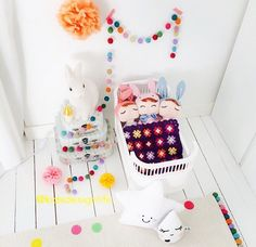 SMALLSTUFF ROSALINE DOLL BED COT WHITE