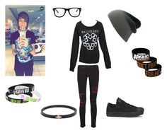 """""""Still Trying To Impress The Cute Guy?"""" by demonlover2002 ❤ liked on Polyvore featuring rag & bone, Converse and Muse"""