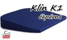 A valde® Klin K1 egy klasszikus ék alakú gerinckímélő ülőpárna a Valde cégtől.   A Klin K1 ülőpárna lejtős kialakitása biztosítja az egészséges ülést, a gerinc helyes pozicióját.   A valde® Klin K1 gerinckímélő ülőpárna kialakitása biztosítja az aktív ülést, nem terheli a gerincet, ezzel a minimumhoz csökkenti a gerinc fájdalmait.   http://uloparna.info/ekparna_gerinckimelo_uloparna_Klin_K1.html