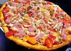 RECETA FITNESS/ Lowcal crunchy pizza sin gluten