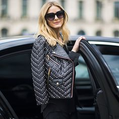 Star Tracks: Wednesday, July 6, 2016 | SO CHIC | Olivia Palermo dons head-to-toe black as she steps out for Haute Couture Fashion Week in Paris, France, on Tuesday.