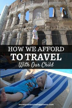 In this post I discuss the ways we afford to travel with our child. Savings, work and rental income all play a part in keeping this dream alive.