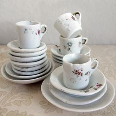 Favorite everyday dishes - Ivory antique Adolina dinnerware by Chris ...