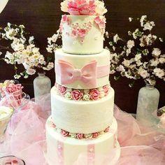 Sweet in pink Birthday cake Pink Birthday Cakes, My Style, Sweet, Desserts, Tailgate Desserts, Dessert, Deserts, Food Deserts, Postres