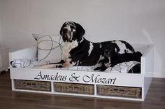 ≥ Hout met riet gecombineerde hondenmanden - Honden | Toebehoren - Marktplaats.nl