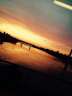 Beautiful Warsaw #sunset