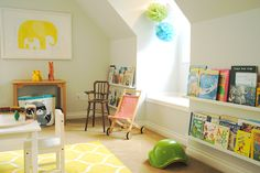 The new playroom