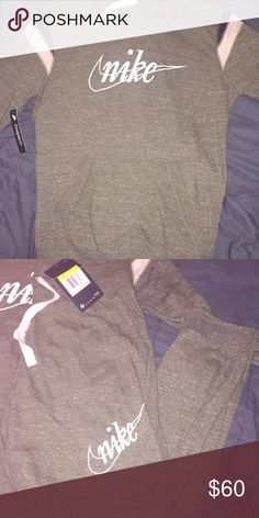 881ed151dab Nikes sweat suit Women's olive green Nike sweat suit . So cute but it's to  big