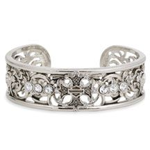 Women's Cuff Bracelet by Harley Davidson...(ok so its not a ring but it would be cool as one)