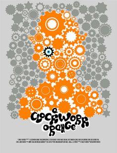 Film-fanartikel Gut Poster Plakat Aufkleber Sticker 1971 Arancia Meccanica Uhrwerk Clockwork Orange Aufkleber & Sticker