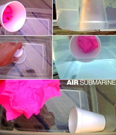 E is for Explore!: Air Submarine Activity to go with learning about air pressure