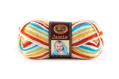 JAMIE- CARIBBEAN STRIPES - This modern update of our classic Jamie® yarn features a sophisticated sherbet color palette and a versatile DK weight. Snuggly soft, machine washable and dryable this yarn is perfect for every baby project.