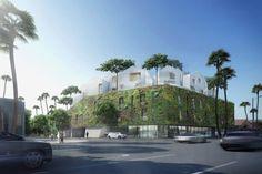 8600 Wilshire: primer proyecto de MAD Architects en los EE.UU.. El estudio de arquitectura de Ma Yansong (MAD Architects) ha dado a conocer algunos renders del proyecto 8600 Wilshire para la ciudad de Los Angeles. Será la primera obra de dicha firma en los EE.UU., y lo hará con un edificio de uso mixto (viviendas y tiendas) que tiene una frondosa fachada con vegetación, y varias villas situadas en su cubierta.  #Actualidad, #Arquitectura