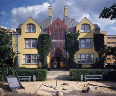 Stanley Tigerman | Urban Villa | Berlín, Alemania | 1980 |  Tigerman McCurry Architects