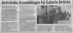 #LOSSER #Expositie #GalerieArtisto Kunstenaar #GerardBrok #Hengelo #HartvanEnschede
