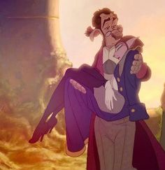 Treasure Planet. Docter Dilburt and Captain Amelia. An unlikey, awesome and cute romance. Treasure Planet.