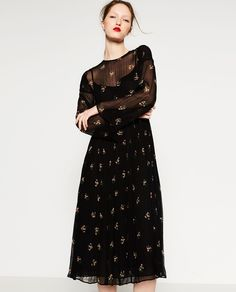 LONG DRESS-View All-DRESSES-WOMAN | ZARA United States