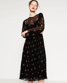 LONG DRESS-View All-DRESSES-WOMAN | ZARA United States