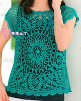blouse crochet - lovely & free charts - nice to work in the round too, so meditative... Enjoy!