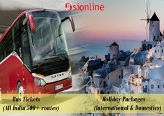 Book your #tour packages / #Bus #Tickets online. Feel easy and secure , visit-: http://sionline.co.in/ for booking.