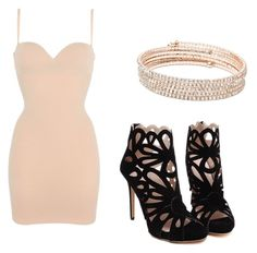"""""""Untitled #7"""" by sophy-bitchisback on Polyvore featuring Wolford and Anne Klein"""