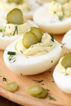 Deviled Eggs are the perfect addition to any party or gathering and a staple at our ham dinners! These are the best deviled eggs I've ever had with the addition of tangy dill pickles, fresh dill and a splash of pickle juice. Deviled eggs are one of those recipes that everyone seems to love! They're a …