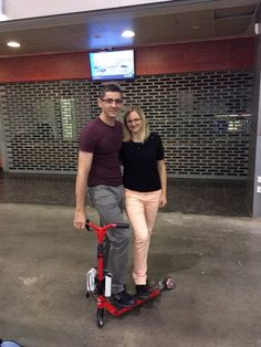 People are having fun with the electric scooter transformed by FlexPV!