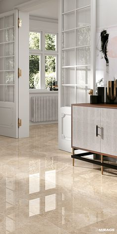 Browse our collection of ceramic floor tiles and ceramic wall tiles for bathrooms, kitchens and outdoor spaces, made in Italy. Home Decor Furniture, Home Decor Bedroom, Room Decor, Floor Design, Tile Design, Home Room Design, Living Room Designs, Floor Tiles For Home, Drawing Room Design
