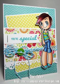 Tracy's Stamping Corner: SOG and Timeless Twine Hop....card