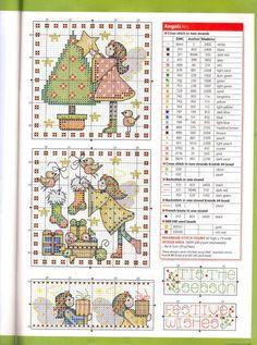 Gallery.ru / Фото #70 - Cross Stitch Favourites Christmas 2017 - Chispitas