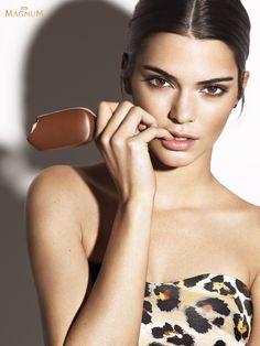 Dare To Go For It  Kendall for Magnum Double Ice Cream photographed by Mert Alas & Marcus Piggott (HQ)