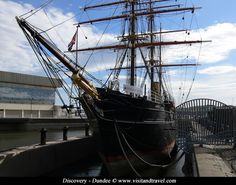 Dundee.Discovery ship.