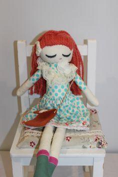 Cloth Doll Plush : Delfina