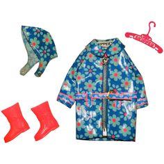 Vintage Skipper Complete Flower Showers Outfit Shower Outfits, Flower Shower, Friend Outfits, Vintage Barbie Dolls, Barbie Friends, Buttonholes, Showers, Coat, Clothes