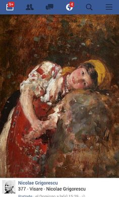 View Daydreams by Nicolae Grigorescu on artnet. Browse upcoming and past auction lots by Nicolae Grigorescu. Art Painting, Virtual Art, Russian Painting, Art For Art Sake, Art History Major, Painter, Painting, Art, Life Art
